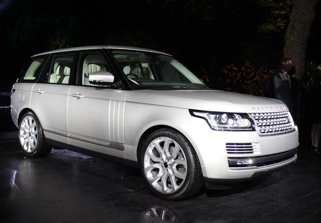 Range Rover - the new generation car